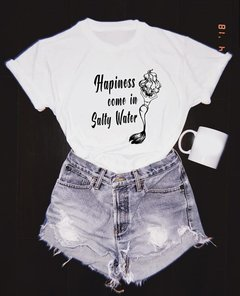 Camiseta Hapiness Come In Salty Water