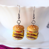 Mini Hamburguesas | Aretes