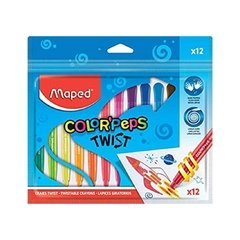 CRAYONES MAPED COLOR´PEPS TWIST