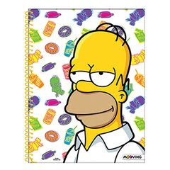 Cuaderno Mooving Anillado Rayado The Simpsons