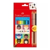 ECOLAPICES FABER CASTELL CARAS Y COLORES  12+3