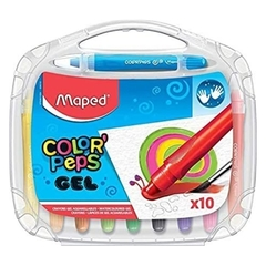 LAPICES MAPED COLOR´PEPS GEL X 10