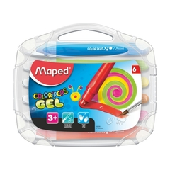 LAPICES MAPED COLOR´PEPS GEL X 6
