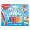 CRAYONES MAPED COLOR PEP´S X 12