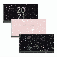 Agenda 2021 FW Pocket cosida GALAXY - Grabatto