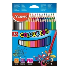 LAPICES MAPED COLOR´PEPS X 36