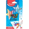 ROTULADORES MAPED COLOR´PEPS GLITTER X 8