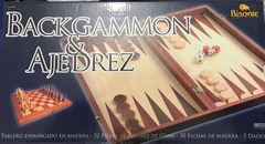 AJEDREZ & BACKGAMMON 2 EN 1
