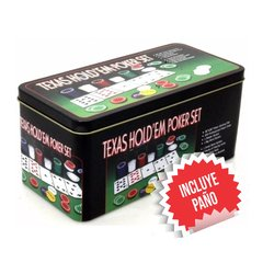 Fichero Texas Hold´em Poker Set X 200 - comprar online