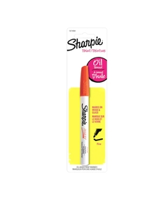 SHARPIE OIL BASED TRAZO FINO COLOR ROJO