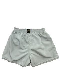 Shorts tactel cinza na internet