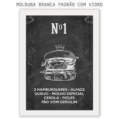 Quadro - Mc Donald's na internet