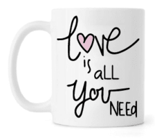Caneca - Love is all you Need
