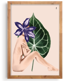 Quadro - My Flower Body na internet