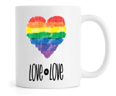 Caneca - Love is Love na internet