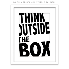 Imagem do Quadro - Think Outside the Box