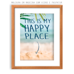 Quadro - This is my Happy Place - comprar online