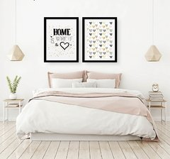 Kit de quadros - Home Hearts - comprar online