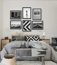 Kit de quadros - Black and White - comprar online