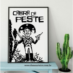 Quadro Decorativo Cabra da Peste