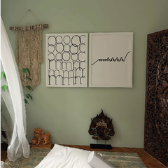 Quadro decorativo - Yoga Om
