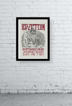 Quadro - led zeppelin old poster