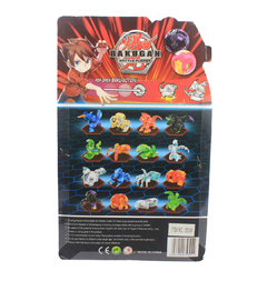 Bakugan Battle Planet 1 Esfera 3.5cm + Personagem + BakuCores - Sortido - Plugados.net