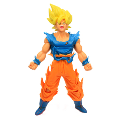 Boneco Dragon Ball Z Action Figure - Goku Super Saiyajin 2 - Amarelo 18cm