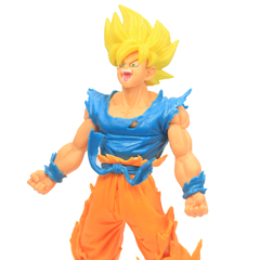 Boneco Dragon Ball Z Action Figure - Goku Super Saiyajin 2 - Amarelo 18cm na internet