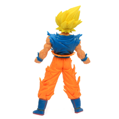 Boneco Dragon Ball Z Action Figure - Goku Super Saiyajin 2 - Amarelo 18cm - Plugados.net