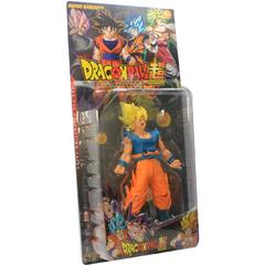 Imagem do Boneco Dragon Ball Z Action Figure - Goku Super Saiyajin 2 - Amarelo 18cm