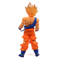 Boneco Dragon Ball Z Action Figure - Resurrection F Super Saiyajin Goku - Dourado 18cm - loja online