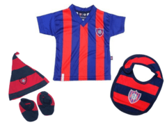 Combo Oficial Baby Fans San Lorenzo