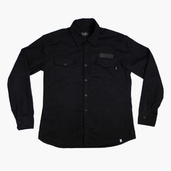 CAMISA FLANELA ALL BLACK