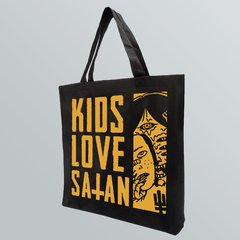 ECOBAG - KIDS LOVE SATAN