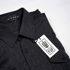GREY FLANNEL SHIRT - yuf