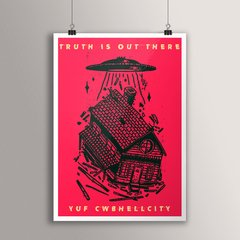 POSTER TRUTH IS OUT THERE - comprar online