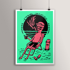 POSTER ETERNAL VACATION - buy online
