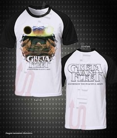 Camiseta Raglan - Greta Van Fleet (Anthem Of The Peaceful Army)
