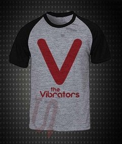 Camiseta Raglan cinza - The Vibrators