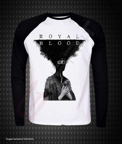 Raglan Manga Longa - Royal Blood - comprar online