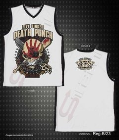 Regata Basquete - Five Finger Death Punch (Got Your Six)