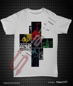 Camiseta, Regata ou Baby Look - Arctic Monkeys (Live at the Apollo) - comprar online