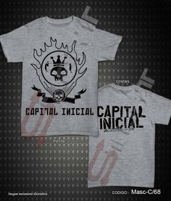 Camiseta, Regata ou Baby look - Capital Inicial