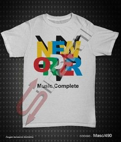 Camiseta, Regata ou Baby Look - New Order