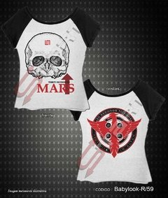 Baby Look Raglan - Thirty Seconds to Mars - comprar online