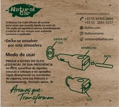 Difusor de Carro (Natural Car) - comprar online