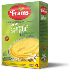 Postre Light de Vainilla - Frams