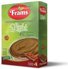 Postre Light de Chocolate - Frams