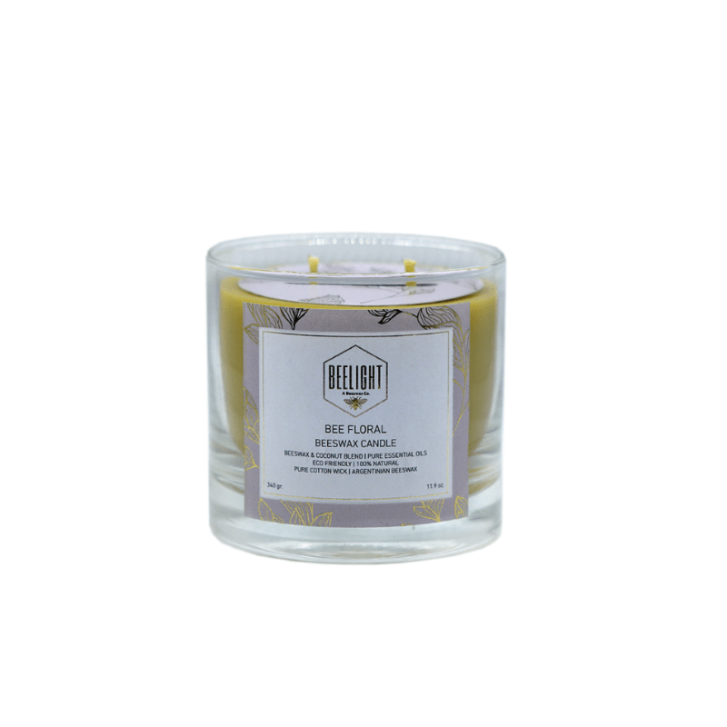 Beeswax Candle - Bee Floral Grande - comprar online